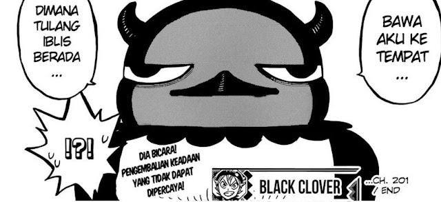 Manga Black Clover 202 Indonesia: Rahasia Nero