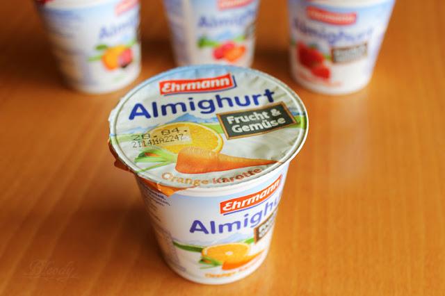 Almighurt Frucht&Gemüse Orange Karotte von Ehrmann