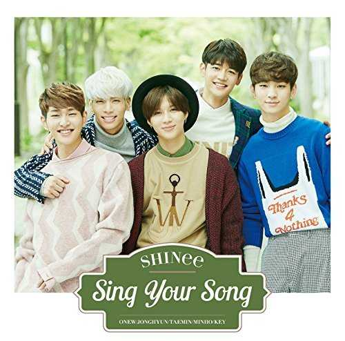 [Single] SHINee – Sing Your Song (2015.10.28/MP3/RAR)