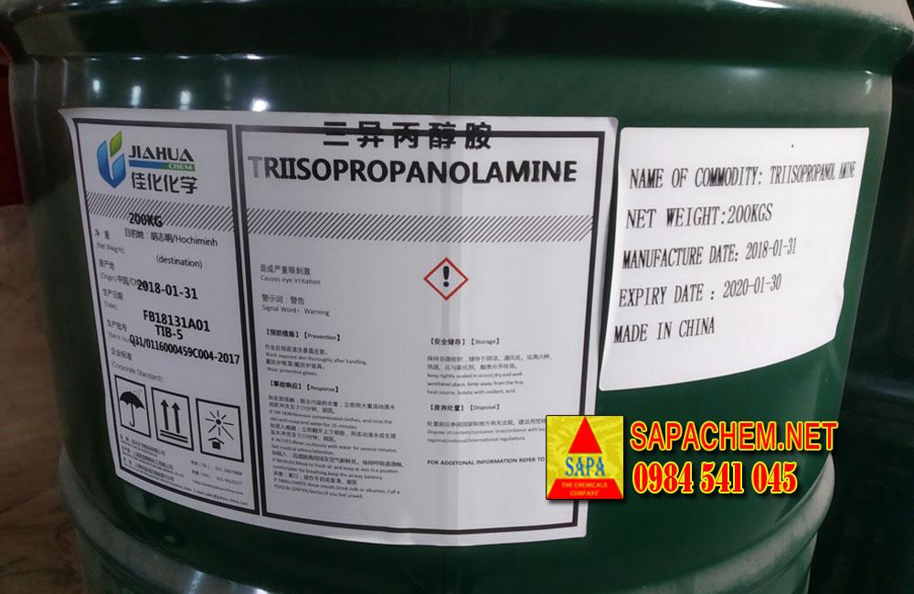 Triisopropanolamine (TIPA) - trợ nghiền xi măng