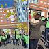 El futbolista Yeray Álvarez se une a una globada en Cruces por el Día del Niño con Cáncer