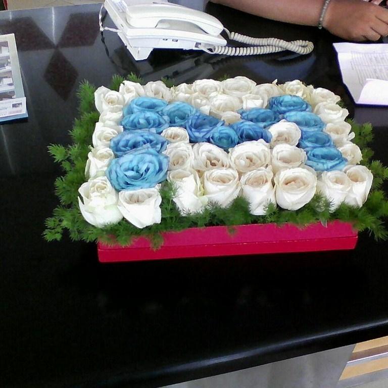 Karangan Bunga Box 004
