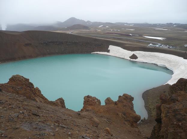 Stora Viti in Islanda