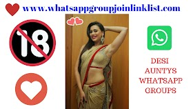 Auntys WhatsApp Group: Join Desi Auntys WhatsApp Group Join Link List