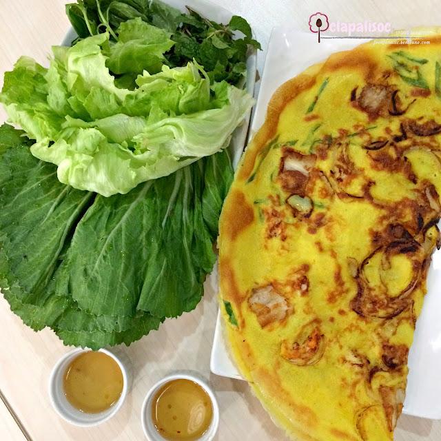 Vietnamese Pancake from Tra Vinh
