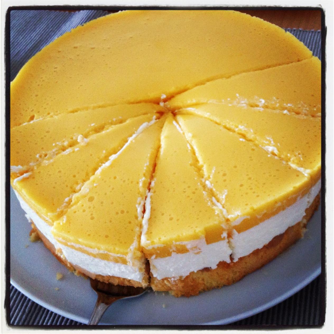 Rezept Pfirsich Maracuja Torte Horizont Blog
