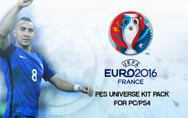 PES 2016 EURO 2016 Kit Pack Update