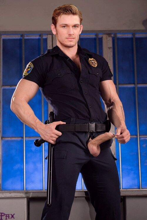HOT GAY POLICE