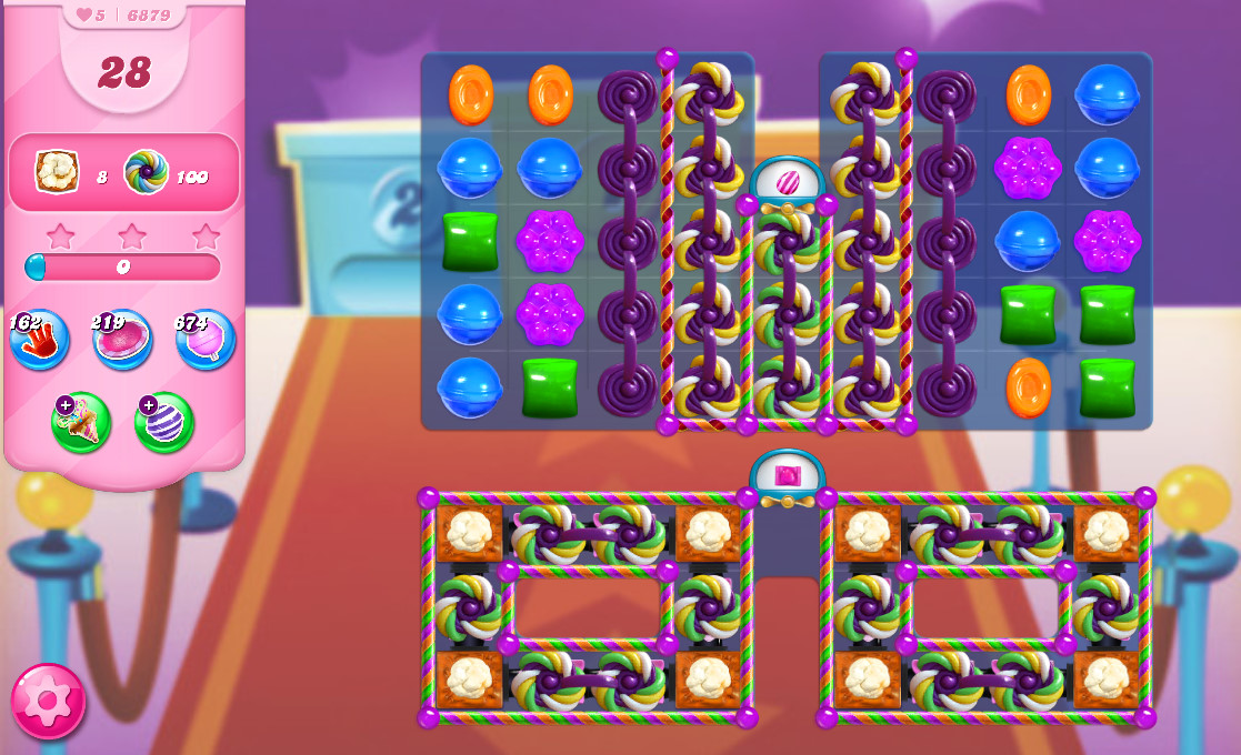 Candy Crush Saga level 6879
