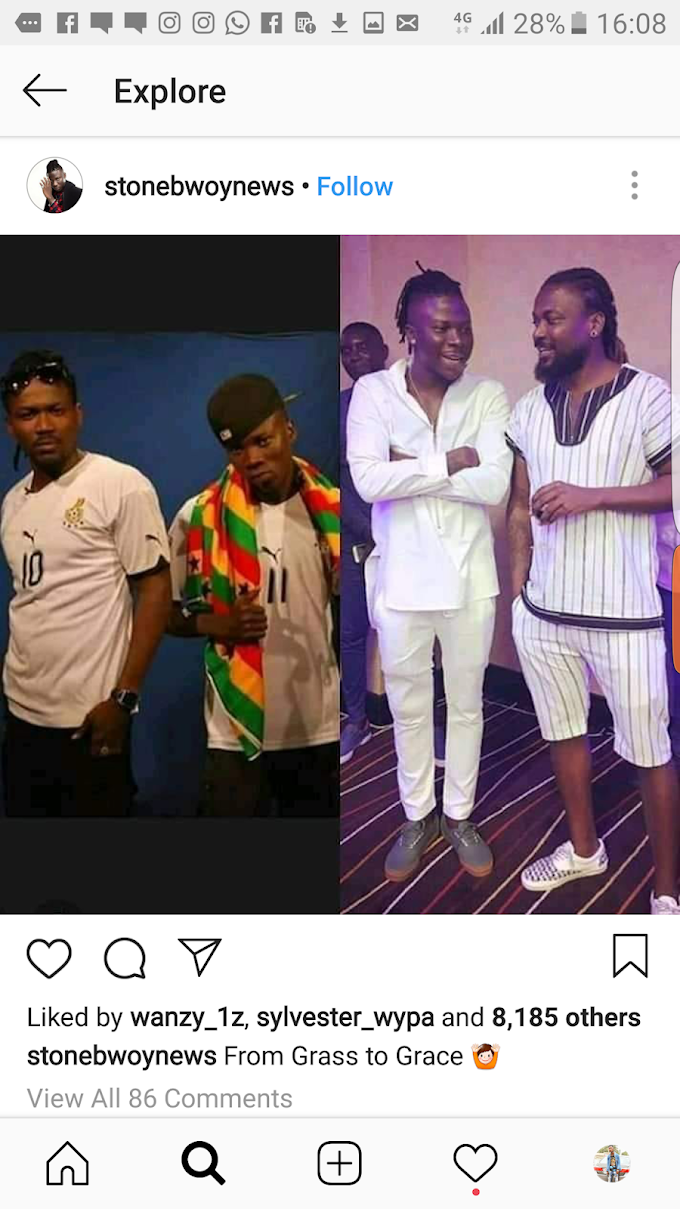 Ghanaian Celebrities share now and 10 years ago photos online