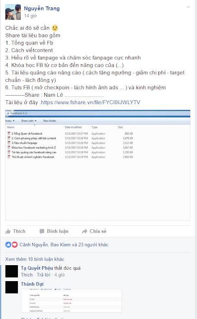 Cảnh báo : Hình thức hack rất tinh vi thông qua thói ham học hỏi và tải tài liệu miễn phí của 500 ae.