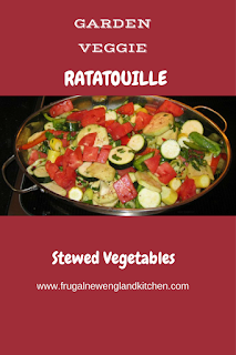 Stewed Egglplant Vegetable Ratatouille