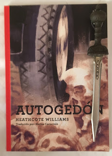 Portada del libro Autogedón, de Heathcote Williams