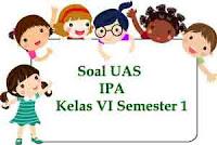 Soal UAS IPA Kelas 6 Semester 1
