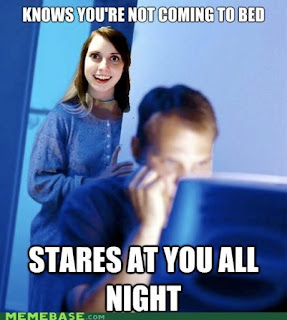 Overly attached girlfriend edition of Internet Husband