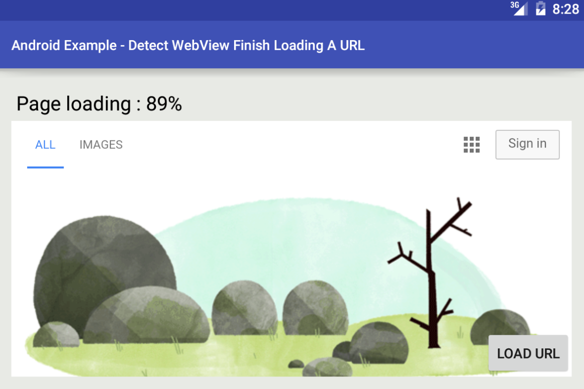 android - Detect when WebView finish loading a URL