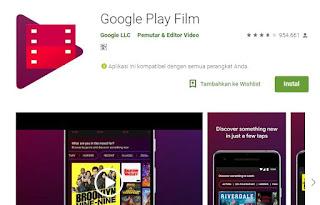 Aplikasi Google Play Film