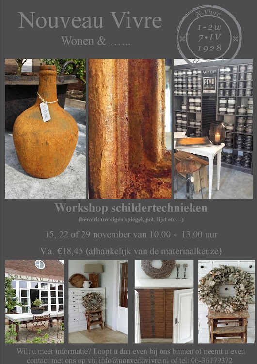 Workshop schildertechnieken