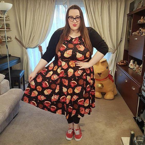 Lady V London Cupcake dress plus size review