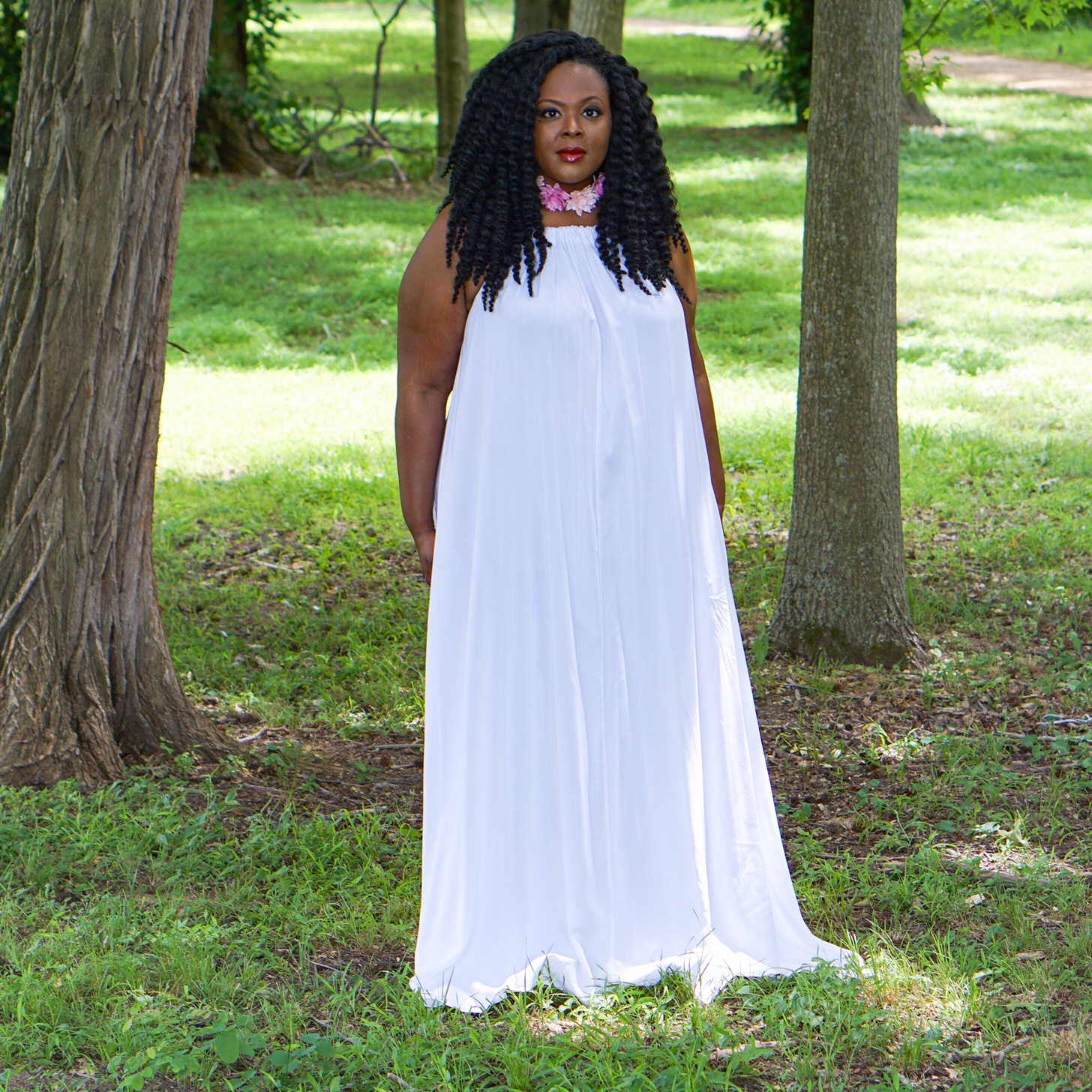 plus size white maxidress, all white dress, plus size white dress, white maxidresses