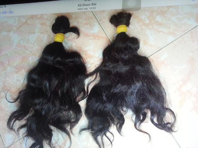 tóc xoăn xuất khẩu