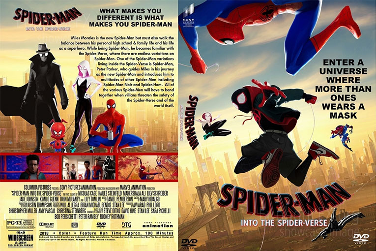 Spider-Man: Into the Spider-Verse (2018) 720p BrRip [Dual Audio] [Hindi 5.1+English]