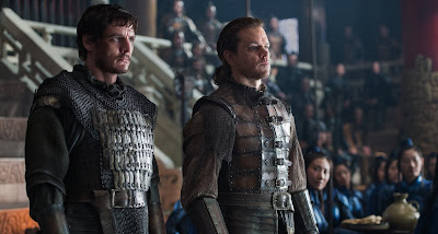 Matt Damon and Pedro Pascal in The Great Wall (8)