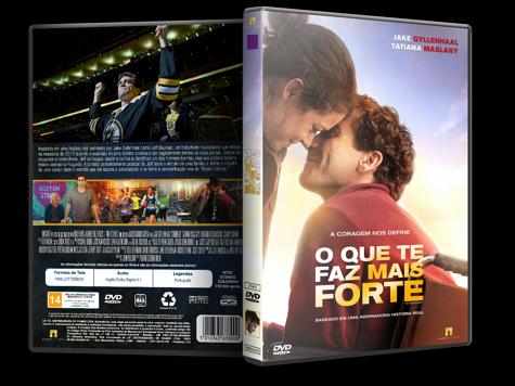 Capa DVD O Que Te Faz Mais Forte [Custom]