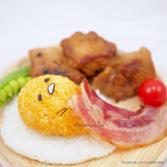 19-Gudetama-The-Lazy-Egg-Yolk-Nawaporn-Pax-Piewpun-aka-Peaceloving-Pax-Food-Art-Inspiration-for-your-Bento-Box