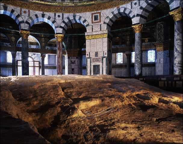 كالتشر-عربية-ضخرة-المعراج-مسجد-قبة-الصخرة-القدس-فلسطين