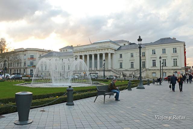 Palacio de Justicoa, plaza Jean Jaurés, Tours