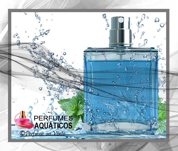 Perfumes da Família Olfativa Aquático para os Dias Quentes
