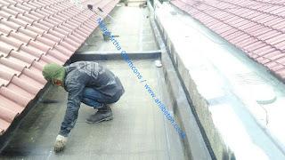 waterproofing membrane pada dak atap