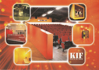 KIF cinema dresden postcard