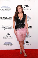 Ashley Graham best red carpet dresses Sports Illustrated Sportsperson of the Year 2016 in New York