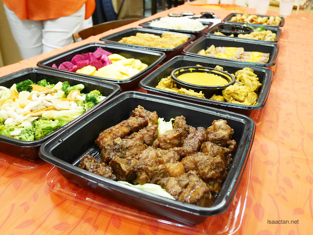 Various dishes available via Canton2go
