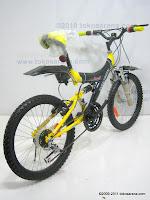 4 Sepeda Gunung EVERGREEN RANGER 18 Speed 20 Inci
