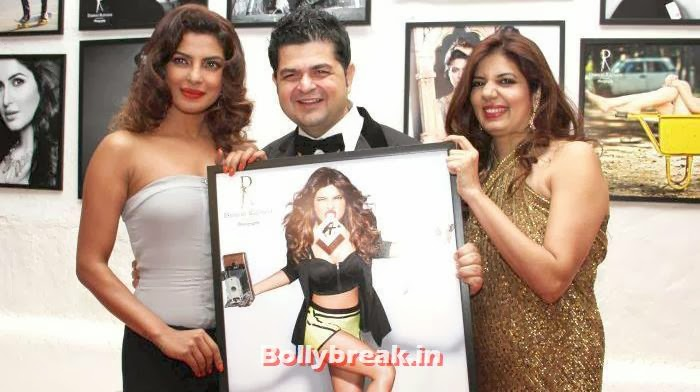 Priyanka Chopra, Daboo Ratnani, Manisha Ratnani, Dabboo Ratnani's 2014 Calendar Launch Pics