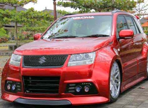 Modifikasi Grand Vitara Ceper