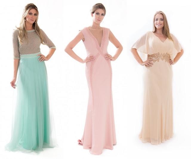 vestido para mães dos noivos