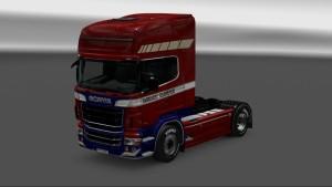 Danmark Transport Skin for Scania RJL
