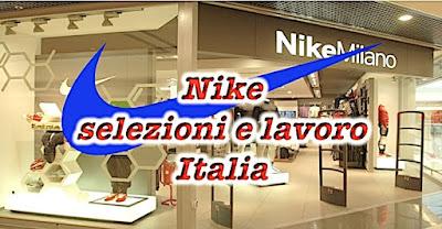 Nike offerte lavoro in Italia (adessolavoro.blogspot.com)