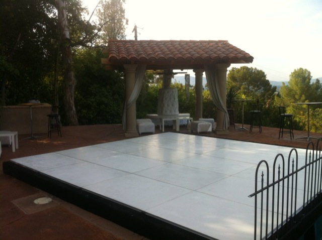 Star Event Productions Plexi Glass Dance Floor Hard