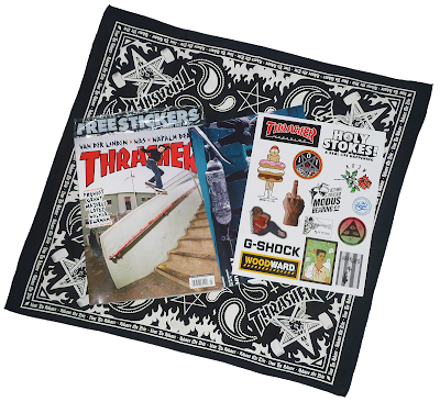 thrasher magazine x pinkviolence x ironxhanger ©