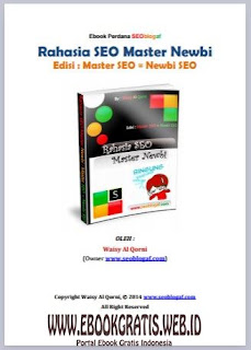 Ebook Rahasia Seo Master Newbi - Buku Panduan Ngeblog