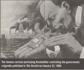 Tahun 1900 Lagi Dah Bagi Hint Rockefeller Control Government