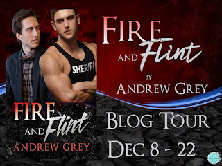Blog Tour: Guestpost, Excerpt & Giveaway -- Andrew Grey - Fire and Flint (Carlisle Deputies #1)