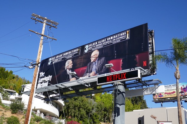 Kominsky Method SAG Golden Globe billboard