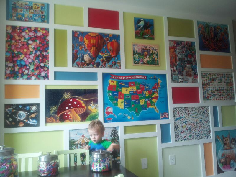 Awesome Puzzle Wall Puzzle Momma