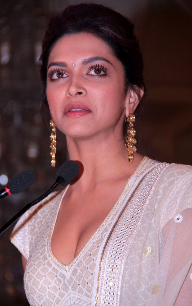 Deepika new stills in white salwar suit